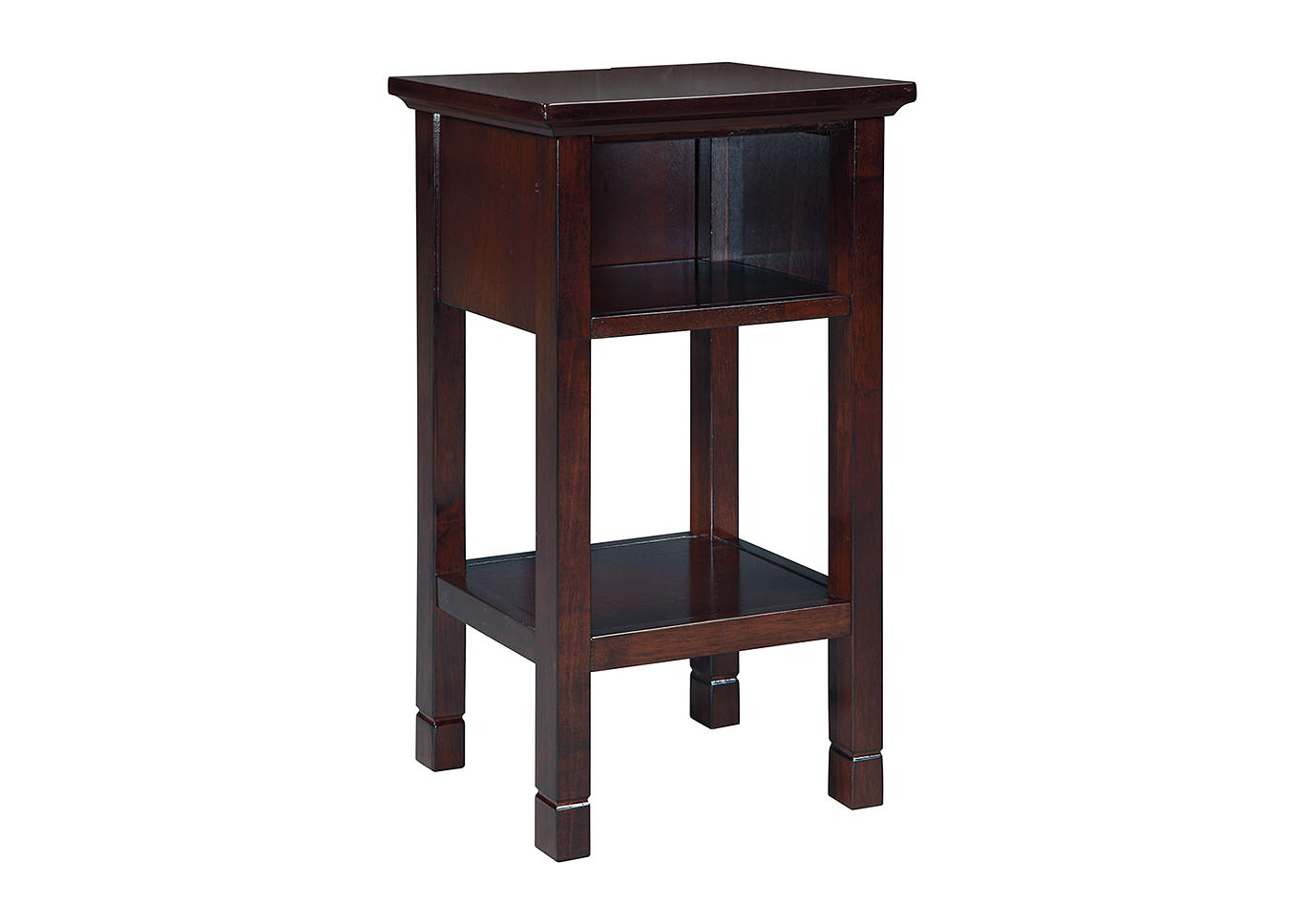 Marnville Reddish Brown Accent Table,Signature Design By Ashley
