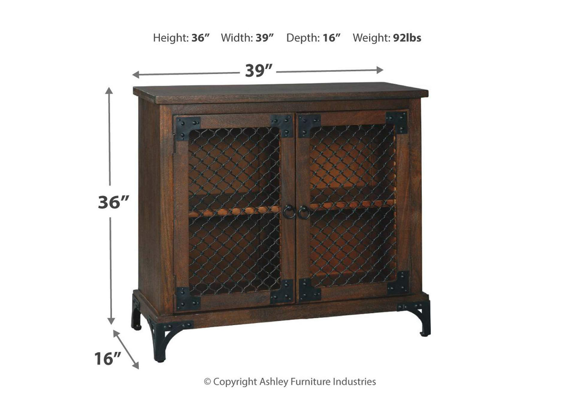 Havendale Brown Accent Cabinet,Signature Design By Ashley