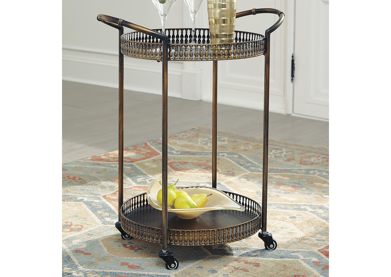 Clarkburn Bar Cart,Signature Design By Ashley