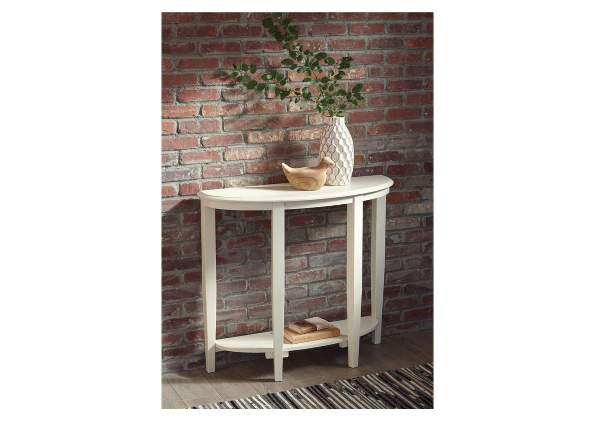 Altonwood White Sofa Table,Signature Design By Ashley
