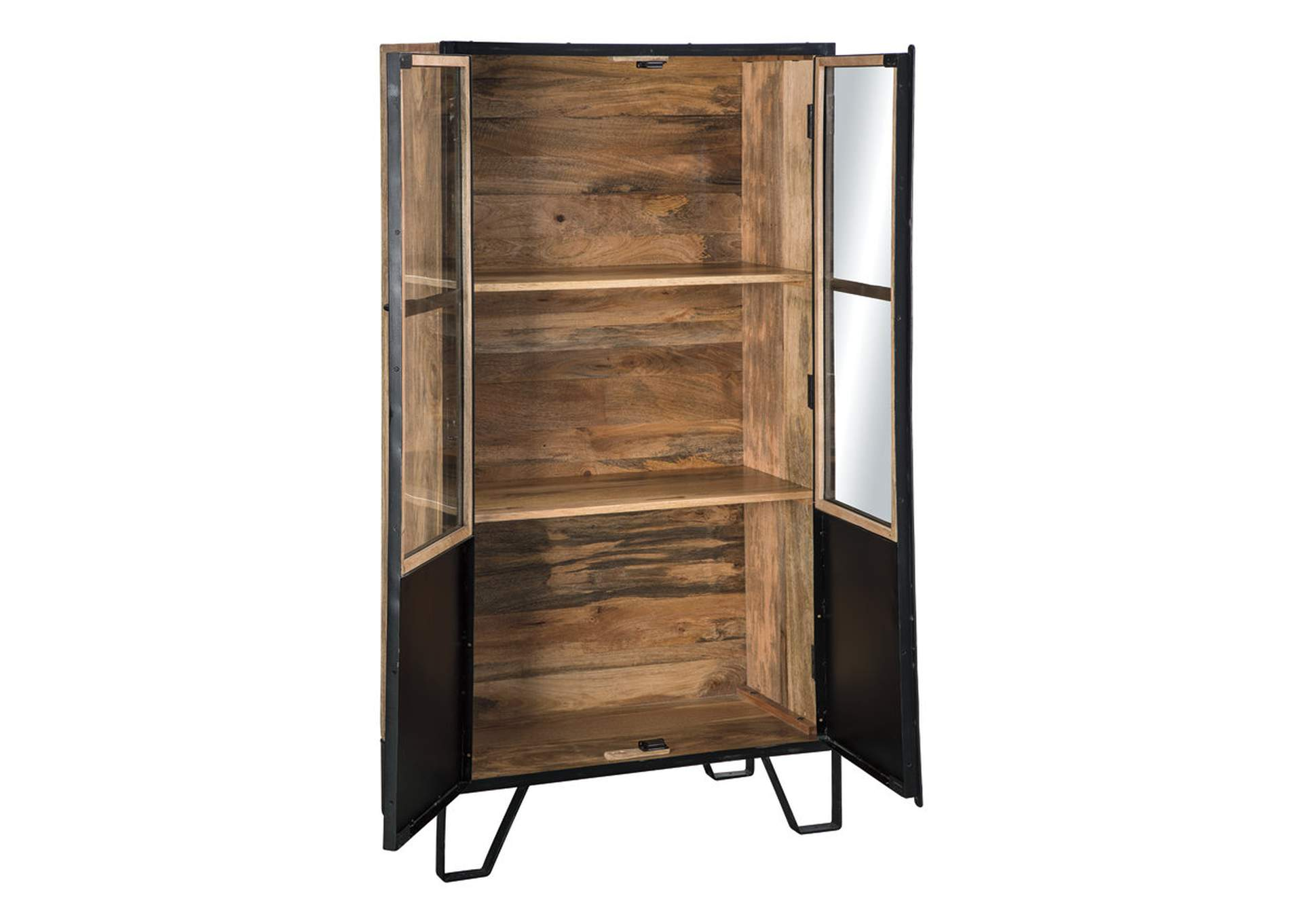 Gabinwell Black/Brown Bookcase,Signature Design By Ashley