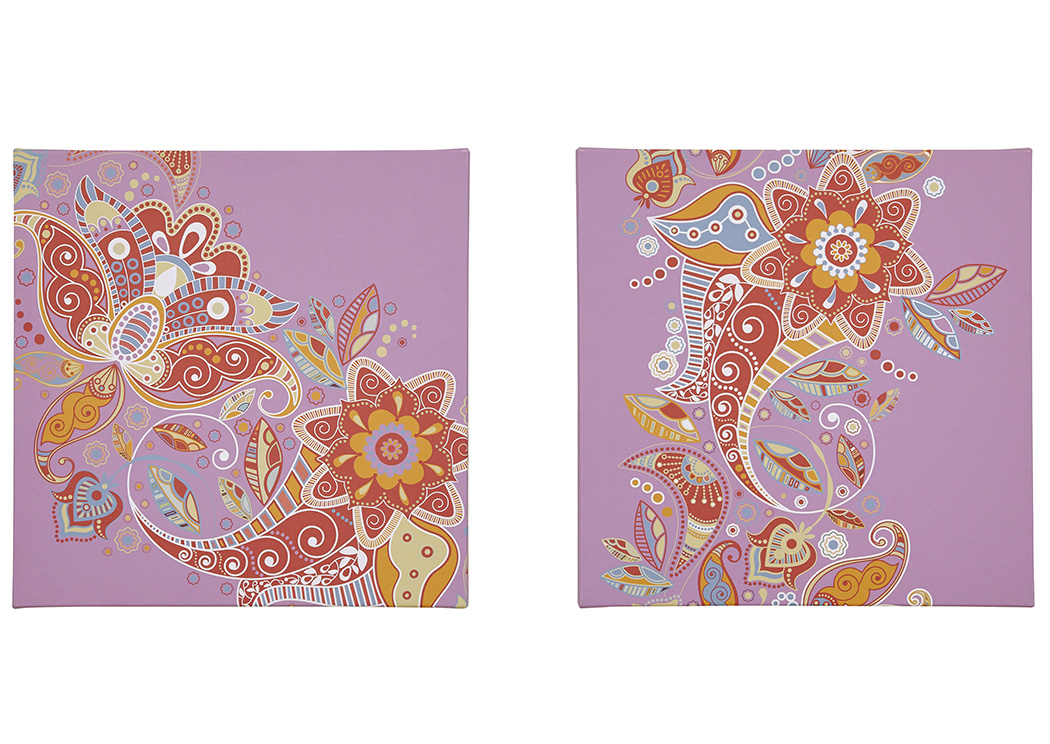 Domenica Multi Wall Art Set (Set of 2),Signature Design By Ashley