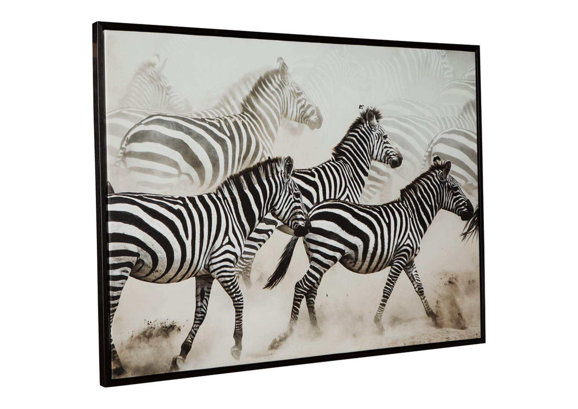 Breeda Black/White Wall Art,Signature Design By Ashley