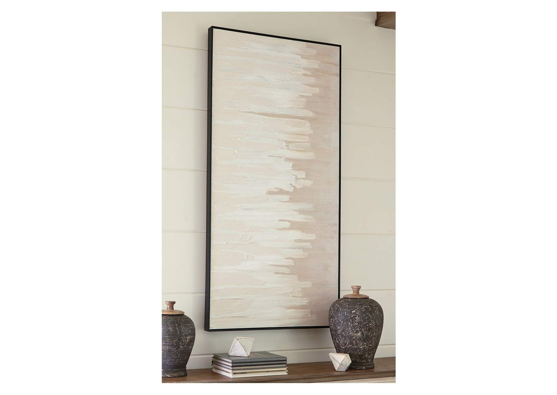Jennaya Tan/White Wall Art,Signature Design By Ashley