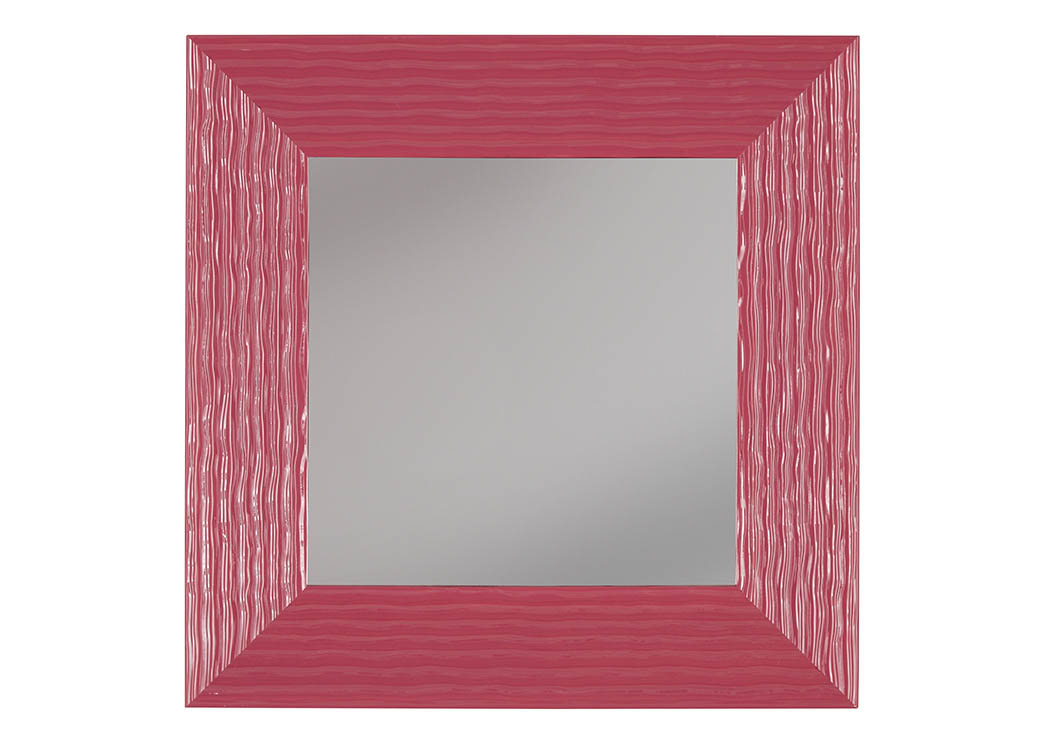 Odelyn Fuchsia Accent Mirror,Signature Design By Ashley