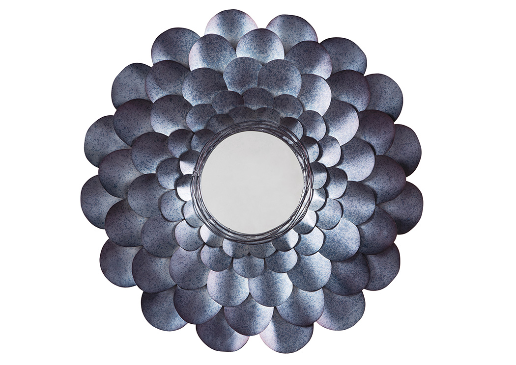 Deunoro Blue Accent Mirror,Signature Design By Ashley