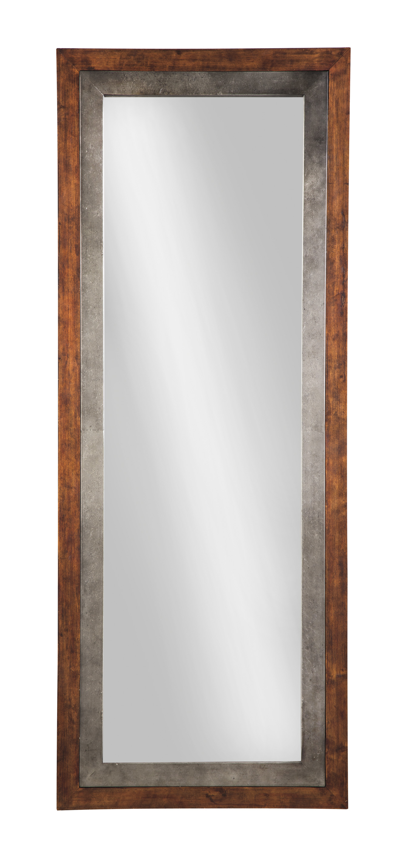 Niah Brown/Silver Accent Mirror,Signature Design By Ashley