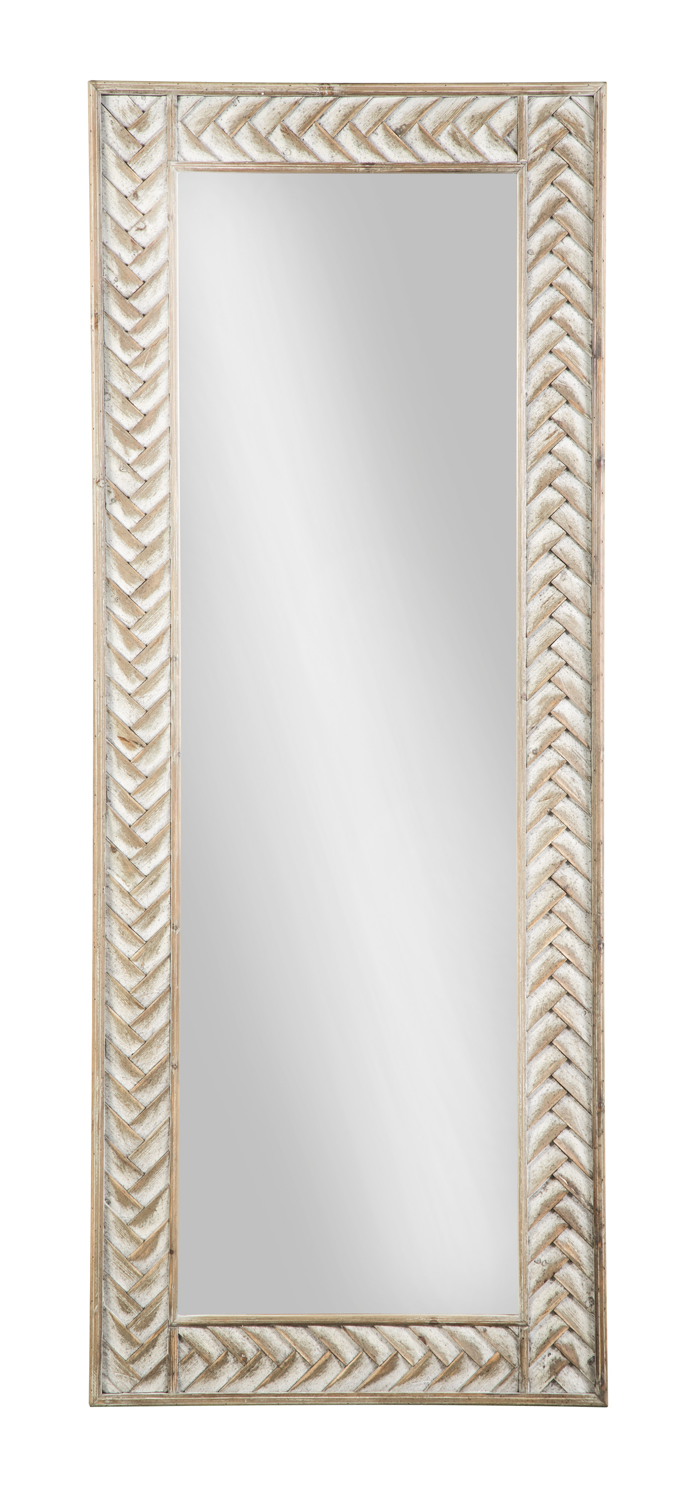 Nash Natural Accent Mirror,Signature Design By Ashley