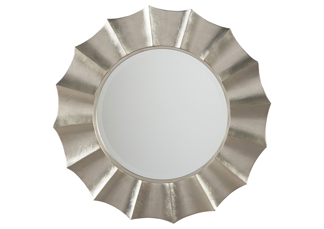 Elsley Silver Finish Accent Mirror,Signature Design By Ashley