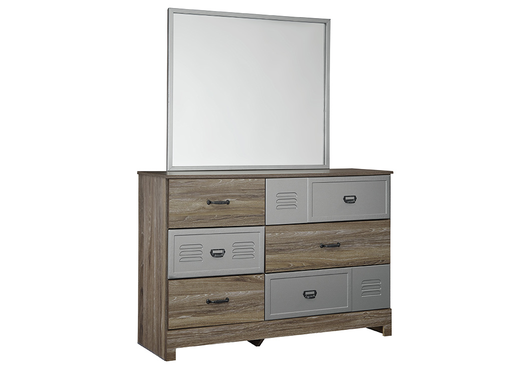 McKeeth Gray Bedroom Mirror,Signature Design By Ashley