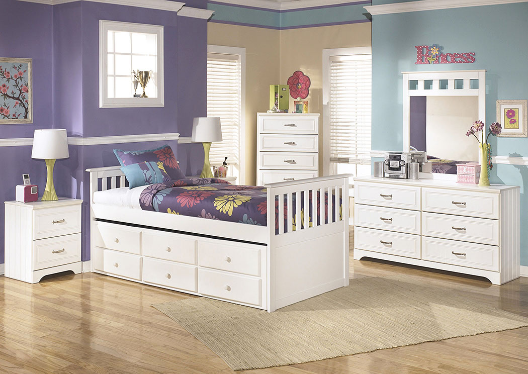 Attirant Lulu Twin Trundle Bed,Signature Design By Ashley