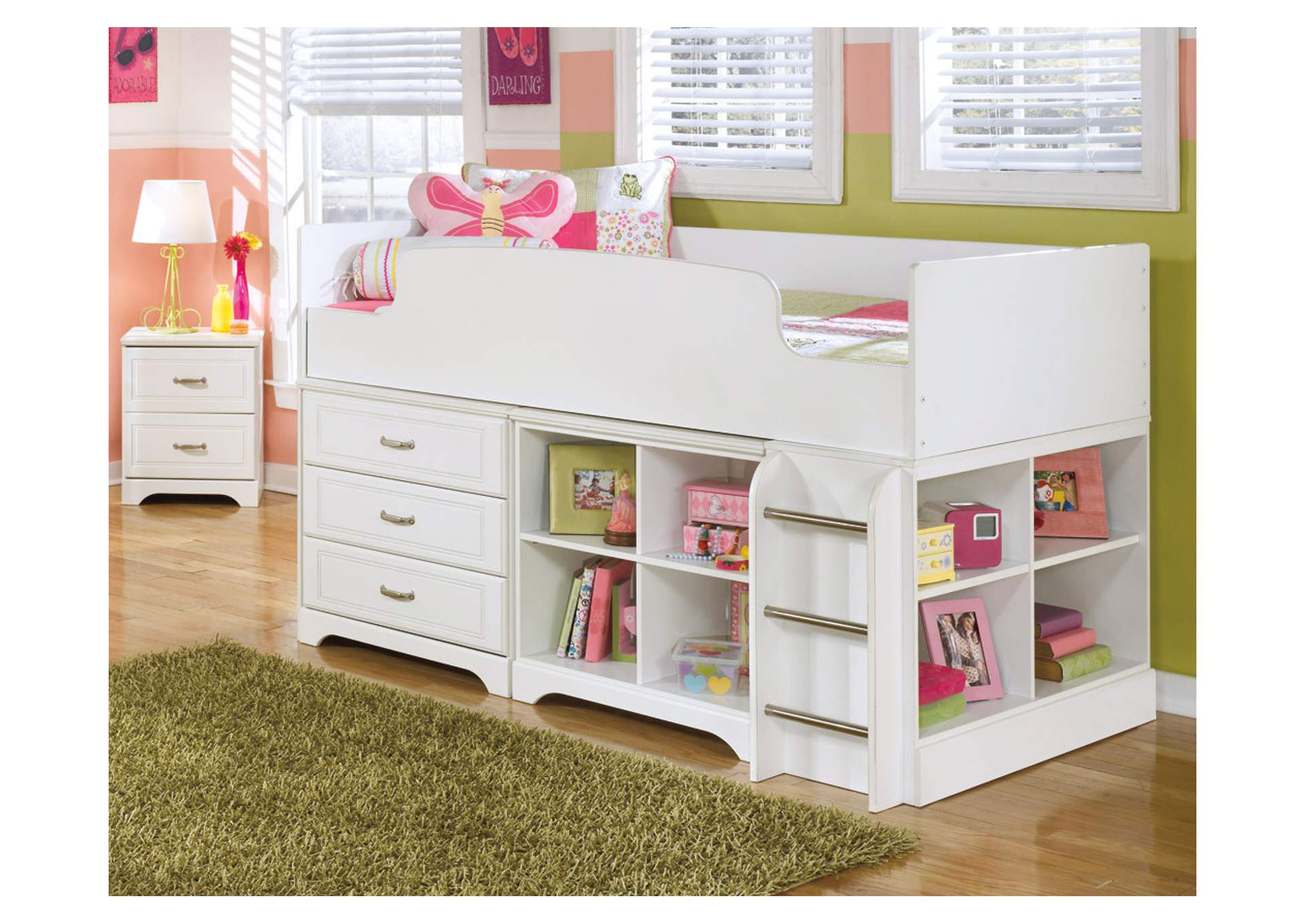 Lulu Loft Bookcase,Signature Design By Ashley