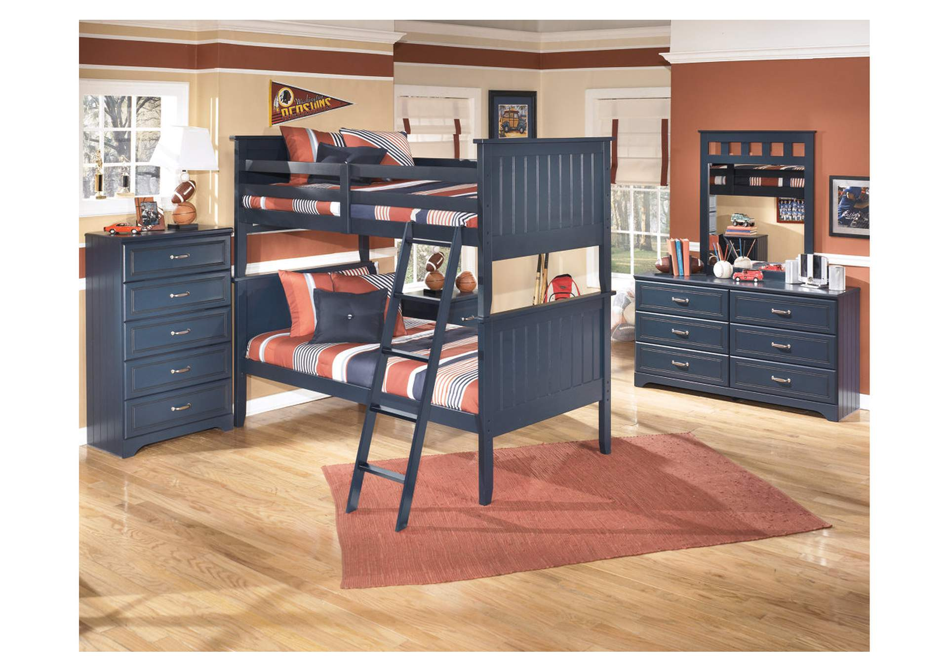 Leo Twin/Twin Bunk Bed,Signature Design By Ashley