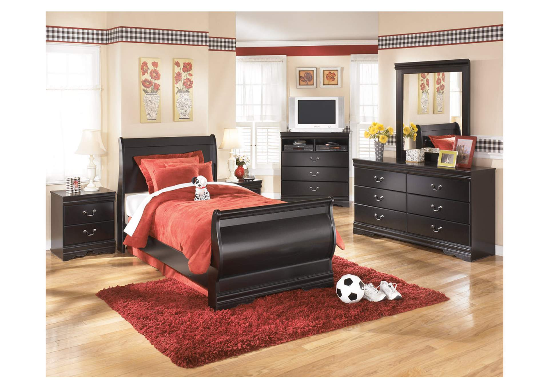 Huey Vineyard Full Sleigh Bed,Signature Design By Ashley