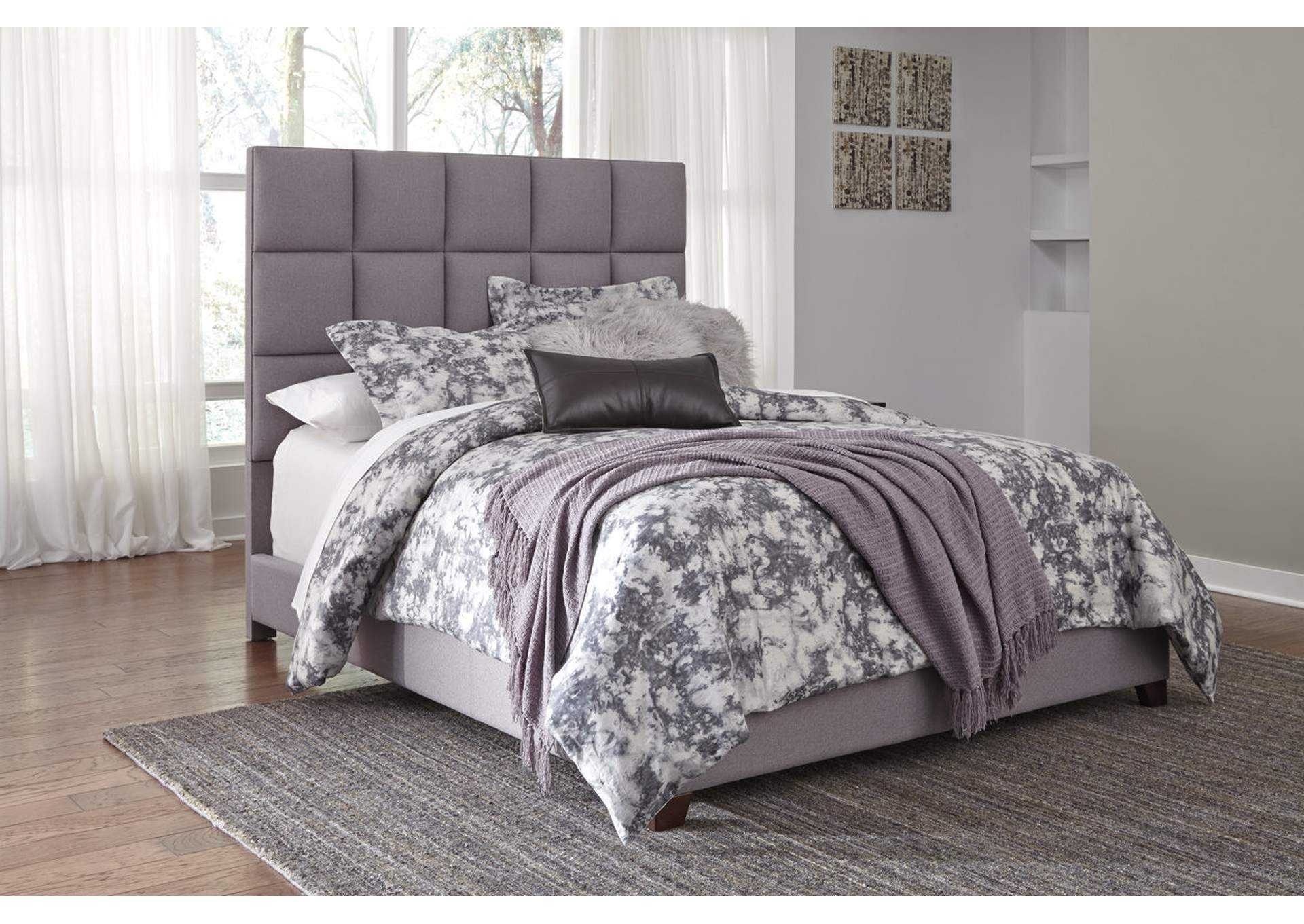 Queen Upholstered Bed,Signature Design By Ashley
