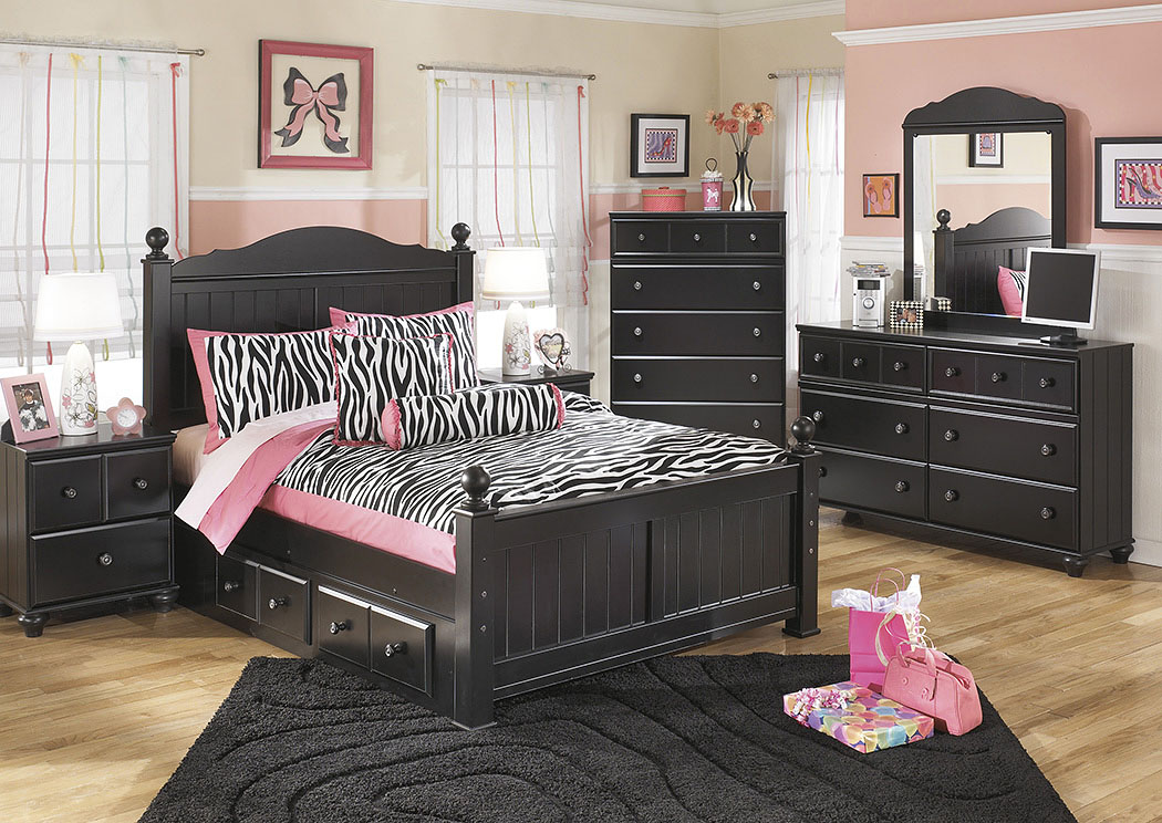 Jaidyn Full Poster Storage Bed,Signature Design By Ashley