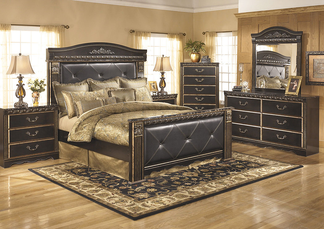 Coal Creek King Mansion Bed,Signature Design By Ashley