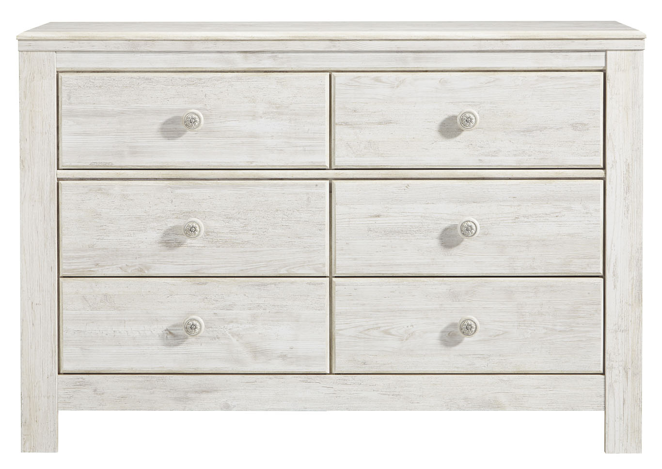 Paxberry Whitewash Dresser,Signature Design By Ashley
