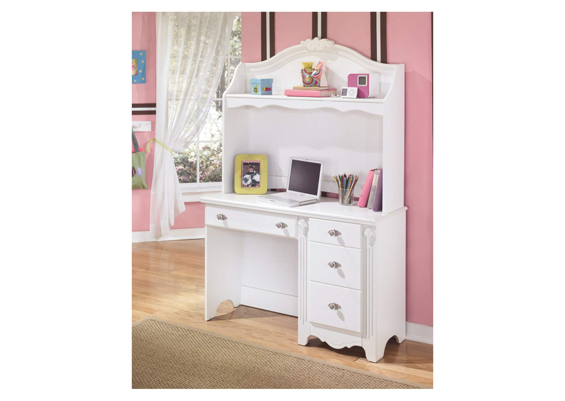 Exquisite Bedroom Desk Hutch,Signature Design By Ashley