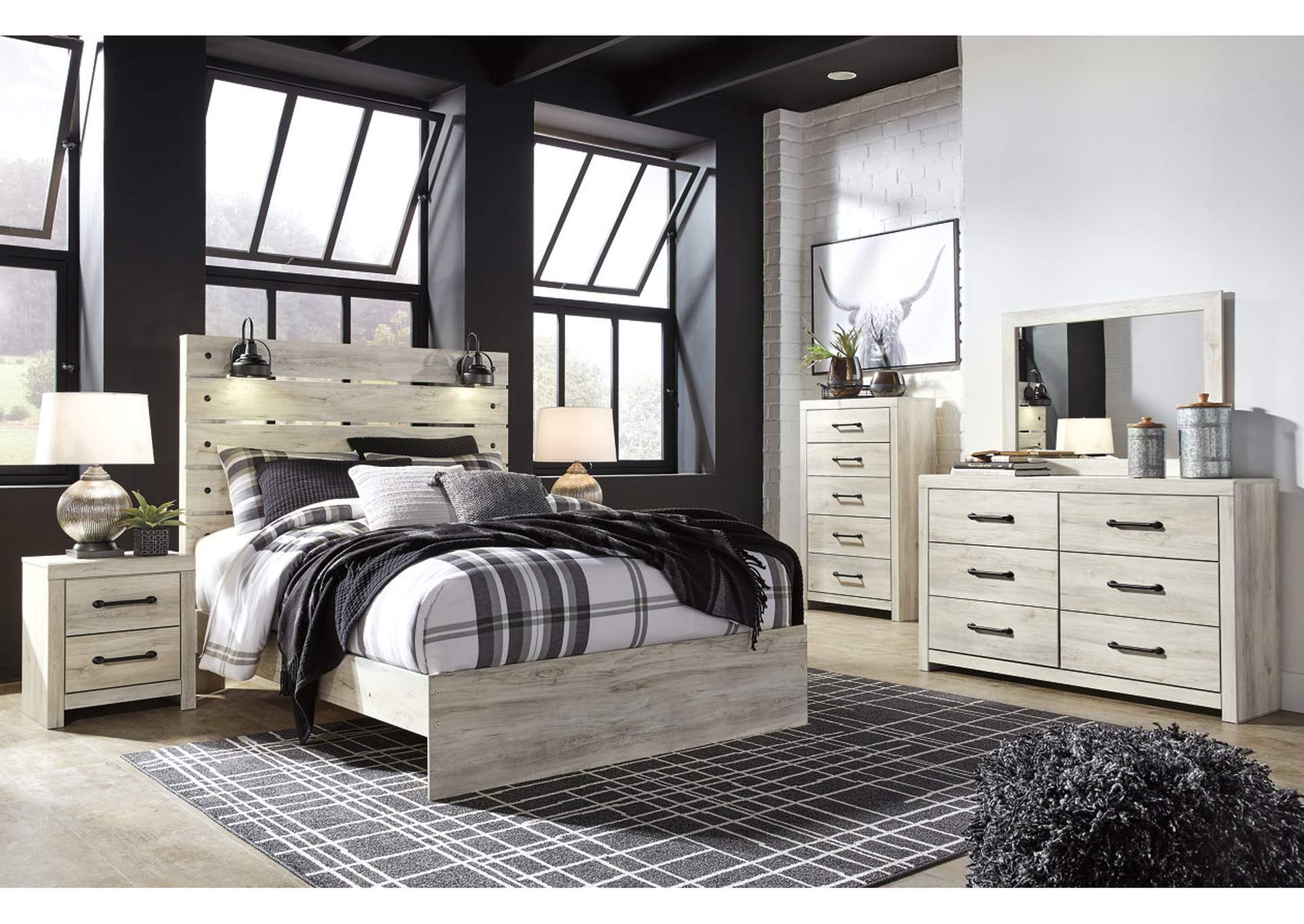 Cambeck Queen Panel Bed w/Dresser & Mirror,Signature Design By Ashley