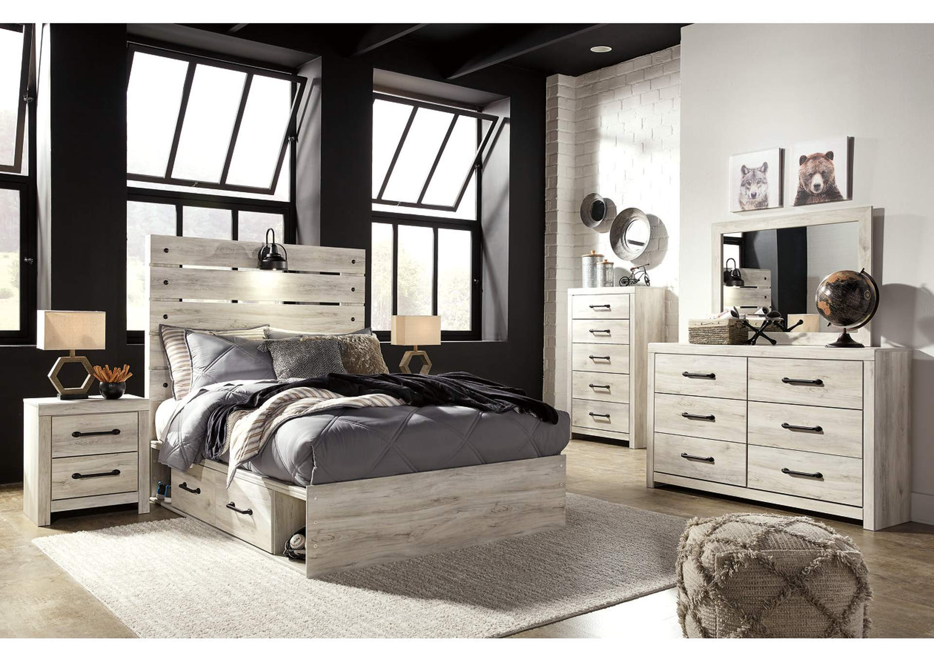 Cambeck Full Two Side Storage Bed,Signature Design By Ashley