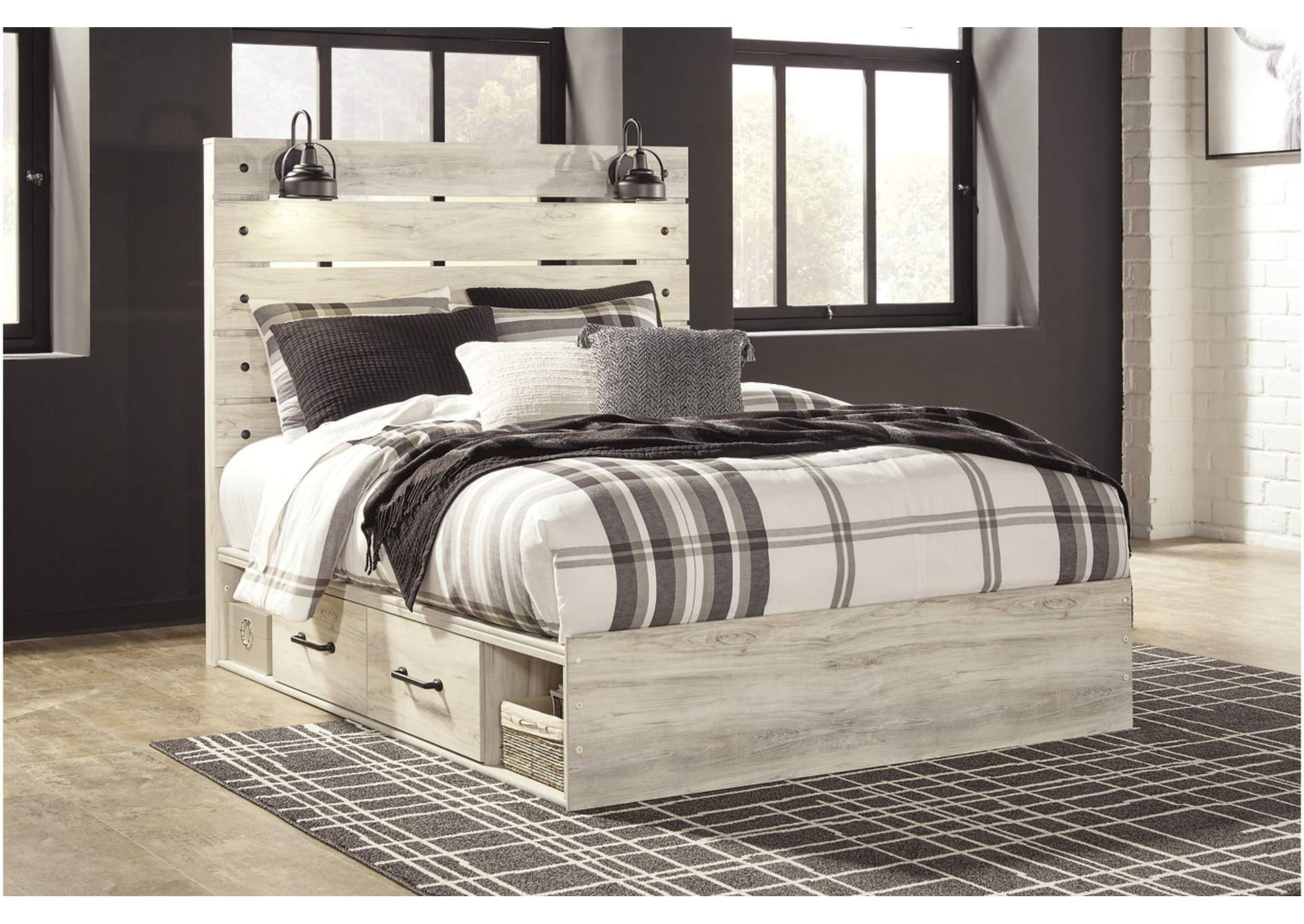 Cambeck Queen Two Side Storage Bed,Signature Design By Ashley