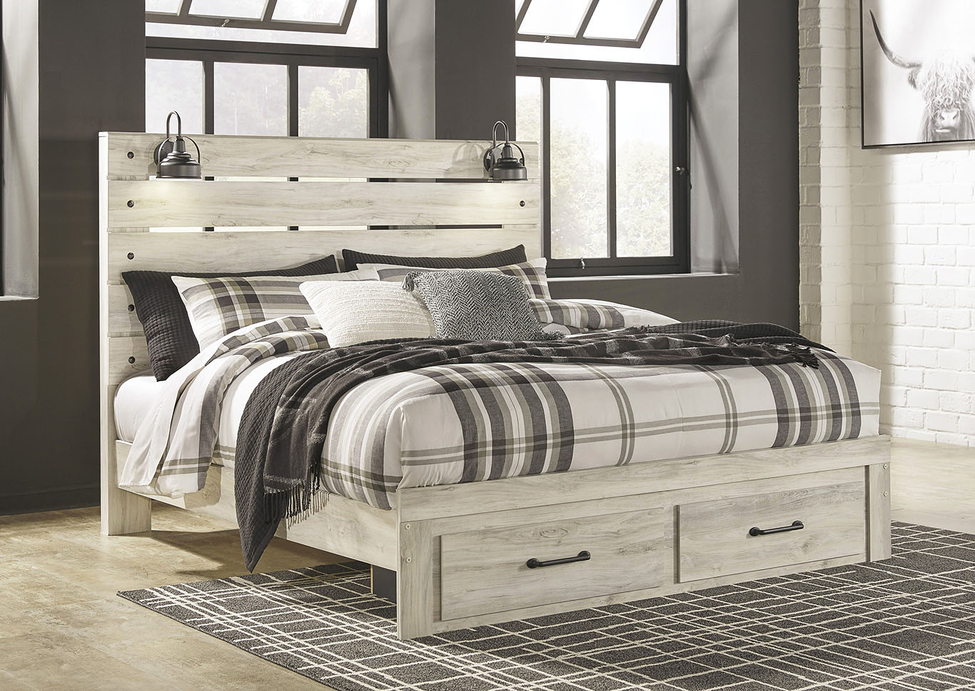 Cambeck King Storage Bed,Signature Design By Ashley