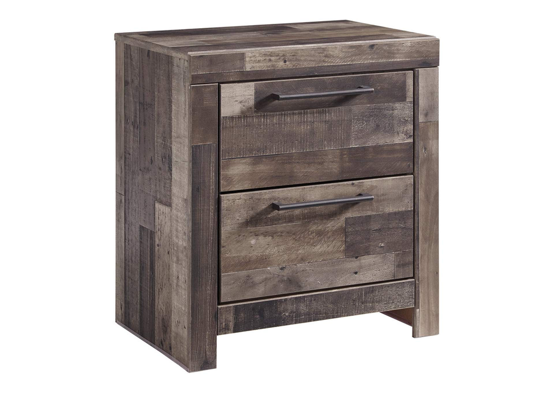Derekson Two Drawer Nightstand,Benchcraft