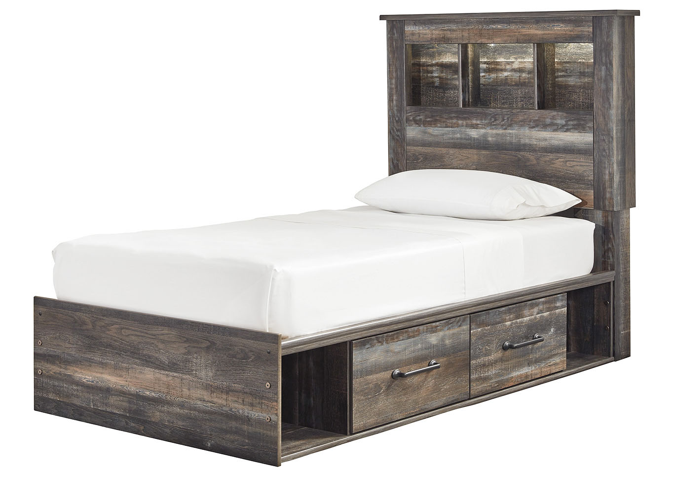 Drystan Bookcase Twin Side Storage Bed,Signature Design By Ashley