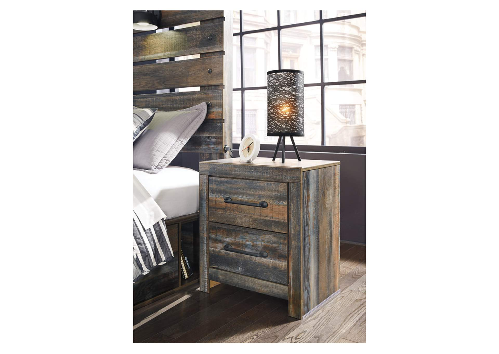 Drystan 2 Drawer Nightstand,Signature Design By Ashley