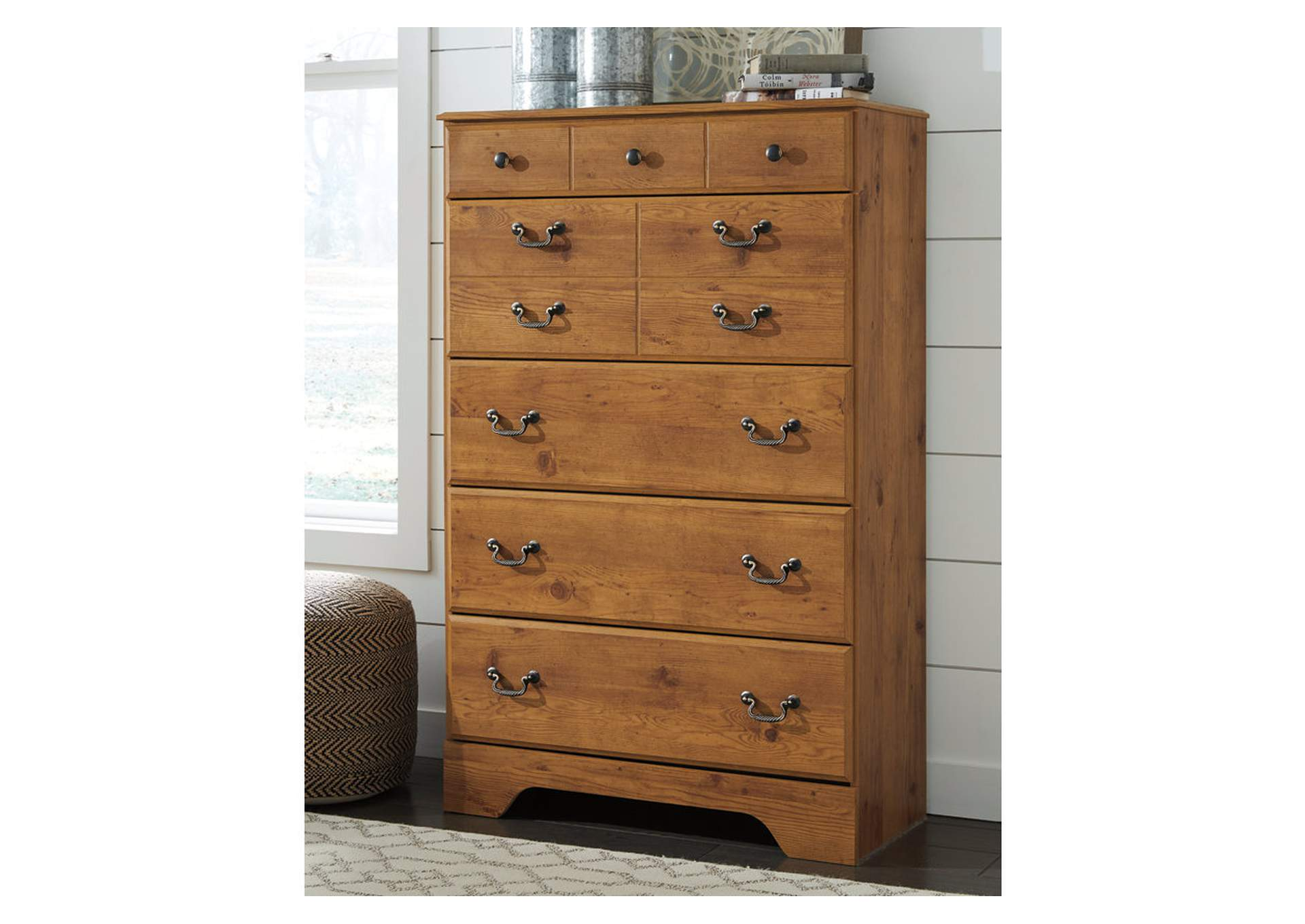 Bittersweet Light Brown Chest,Signature Design By Ashley
