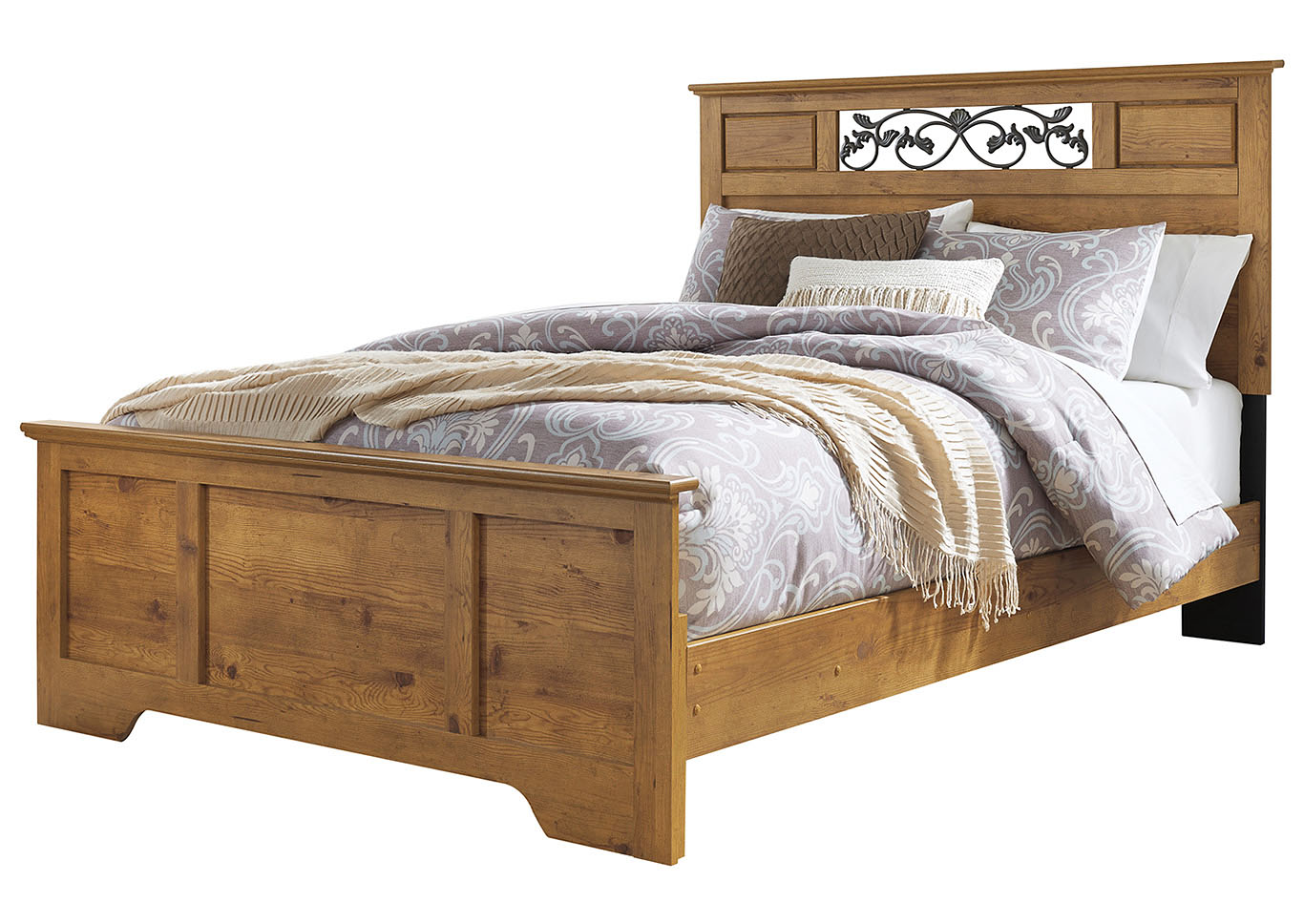 Bittersweet Light Brown Queen Panel Bed,Signature Design By Ashley