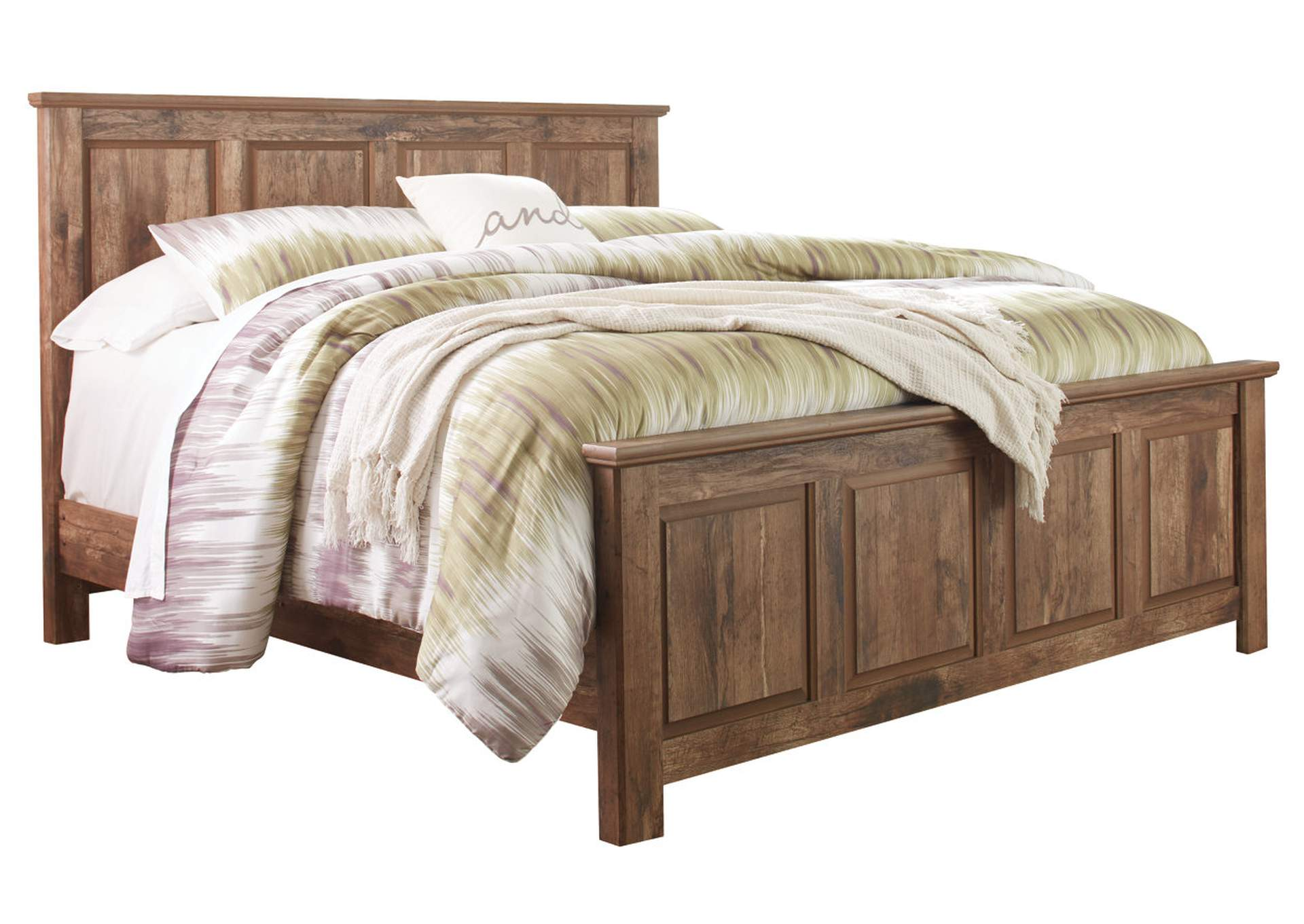 Blaneville Brown King Panel Bed,Signature Design By Ashley