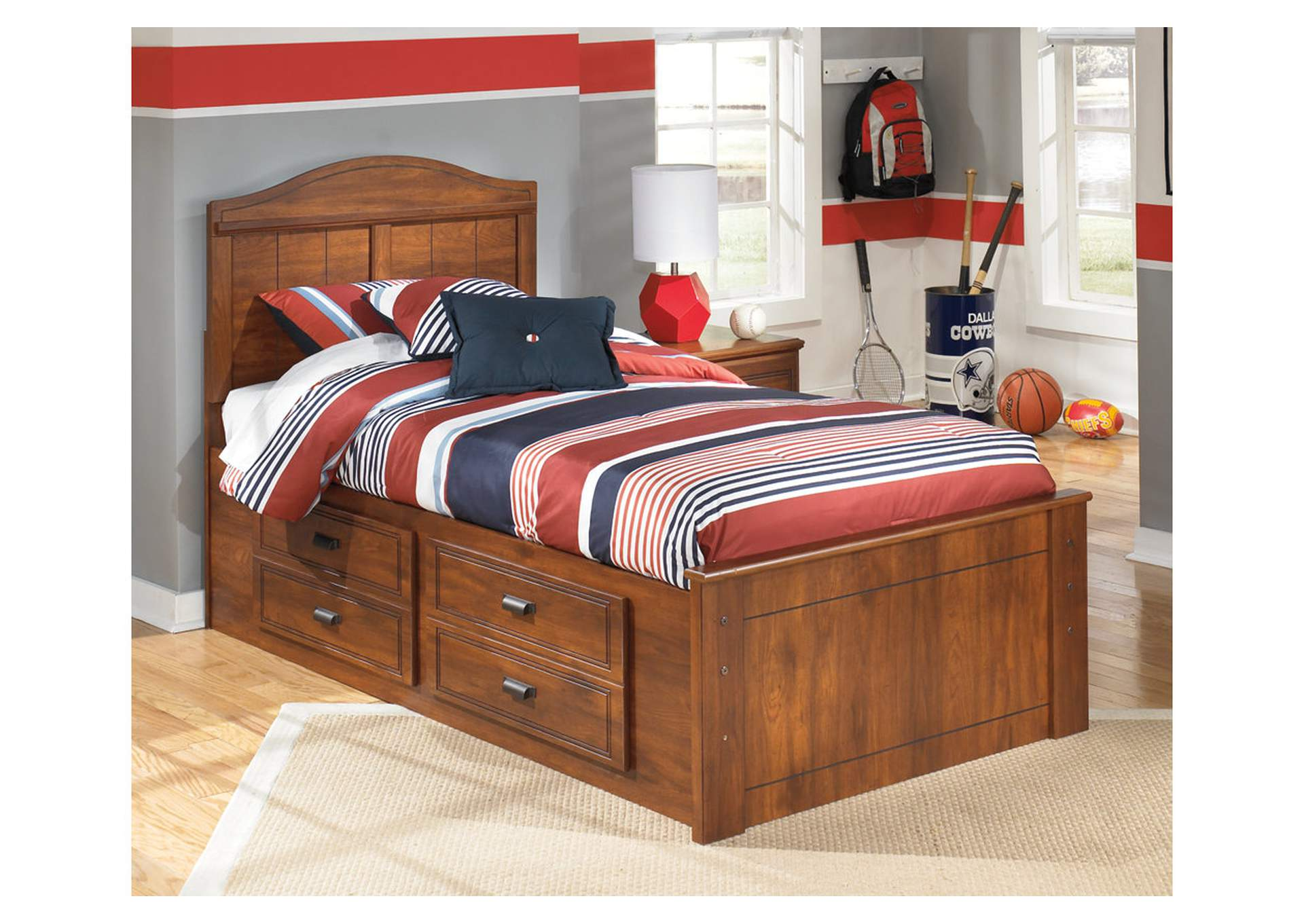Barchan Twin Panel Bed w/ Storage,Signature Design By Ashley