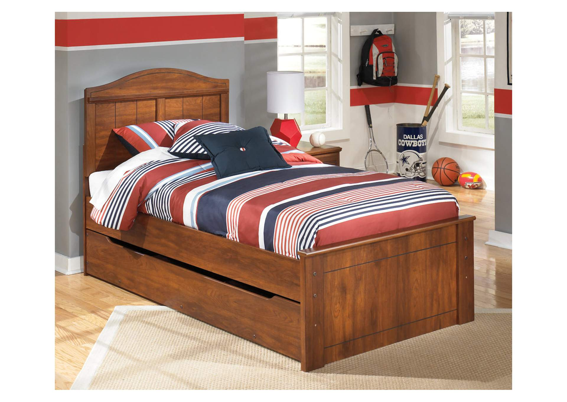 Barchan Twin Panel Bed w/ Trundle,Signature Design By Ashley