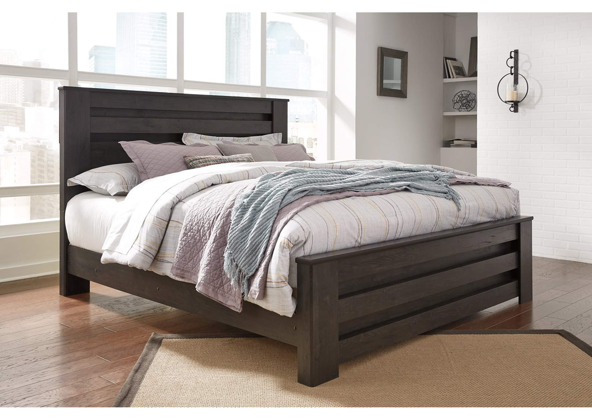 Brinxton Black Full Panel Bed,Signature Design By Ashley