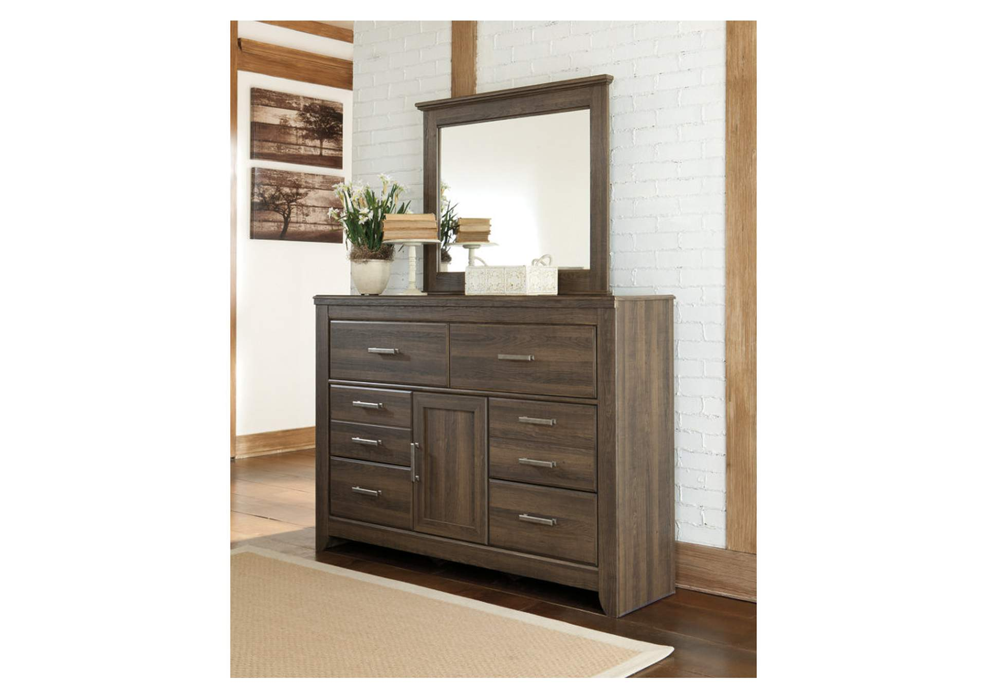 Juararo Dresser & Mirror,Signature Design By Ashley