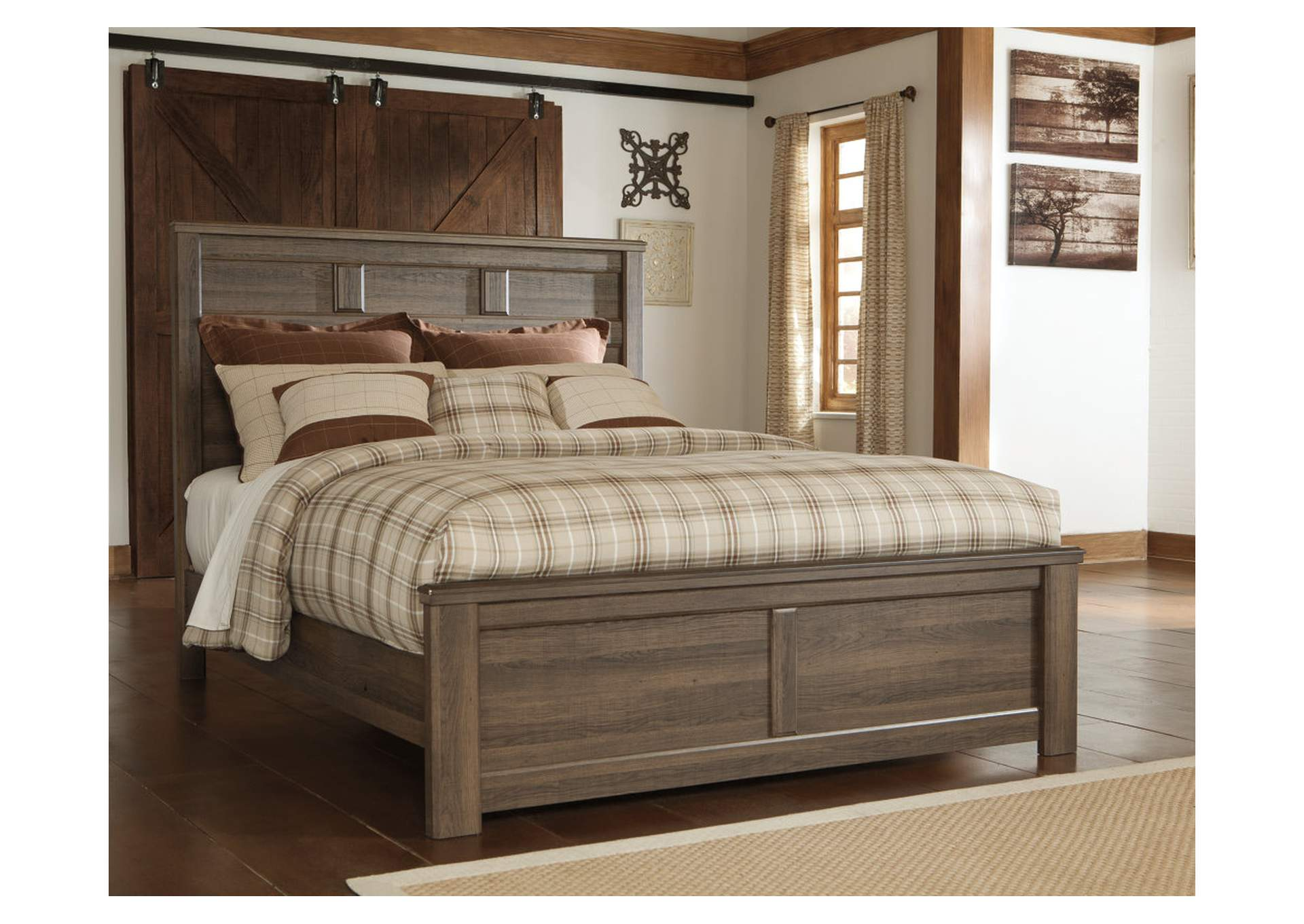 Juararo California King Panel Bed,Signature Design By Ashley