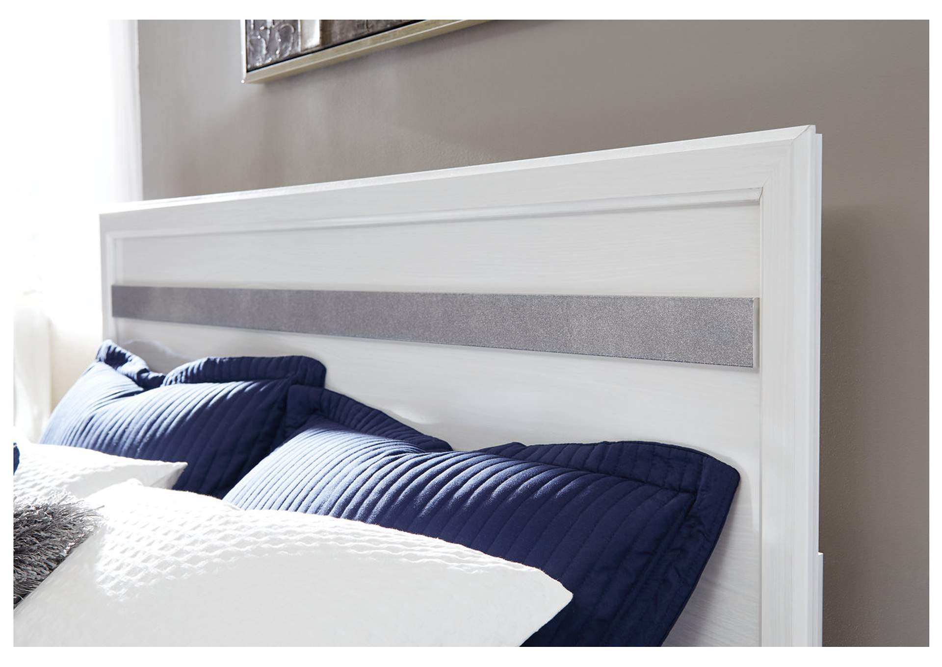 Jallory White Queen/Full Panel Headboard,Signature Design By Ashley