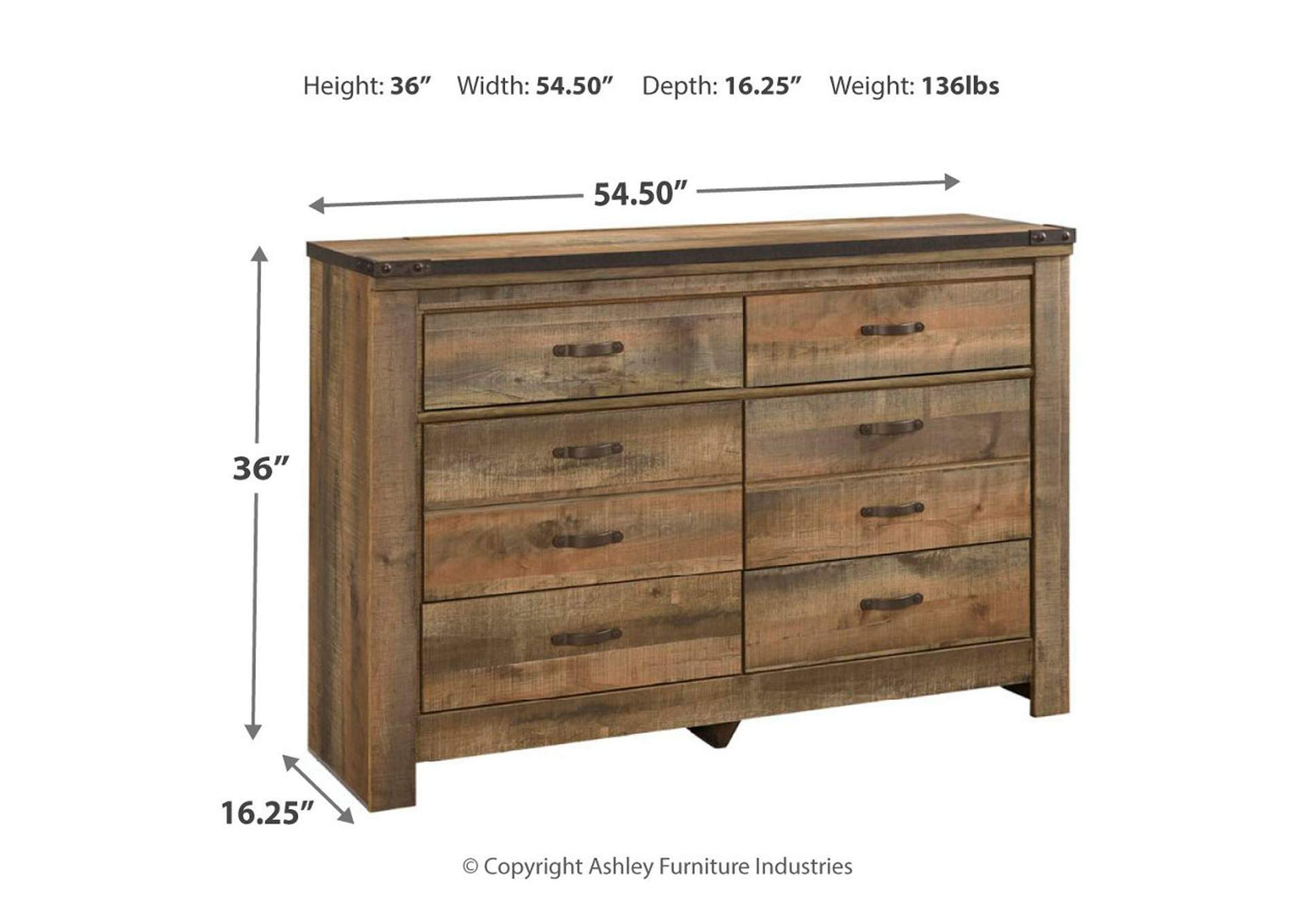 Trinell Brown Youth Dresser,Signature Design By Ashley