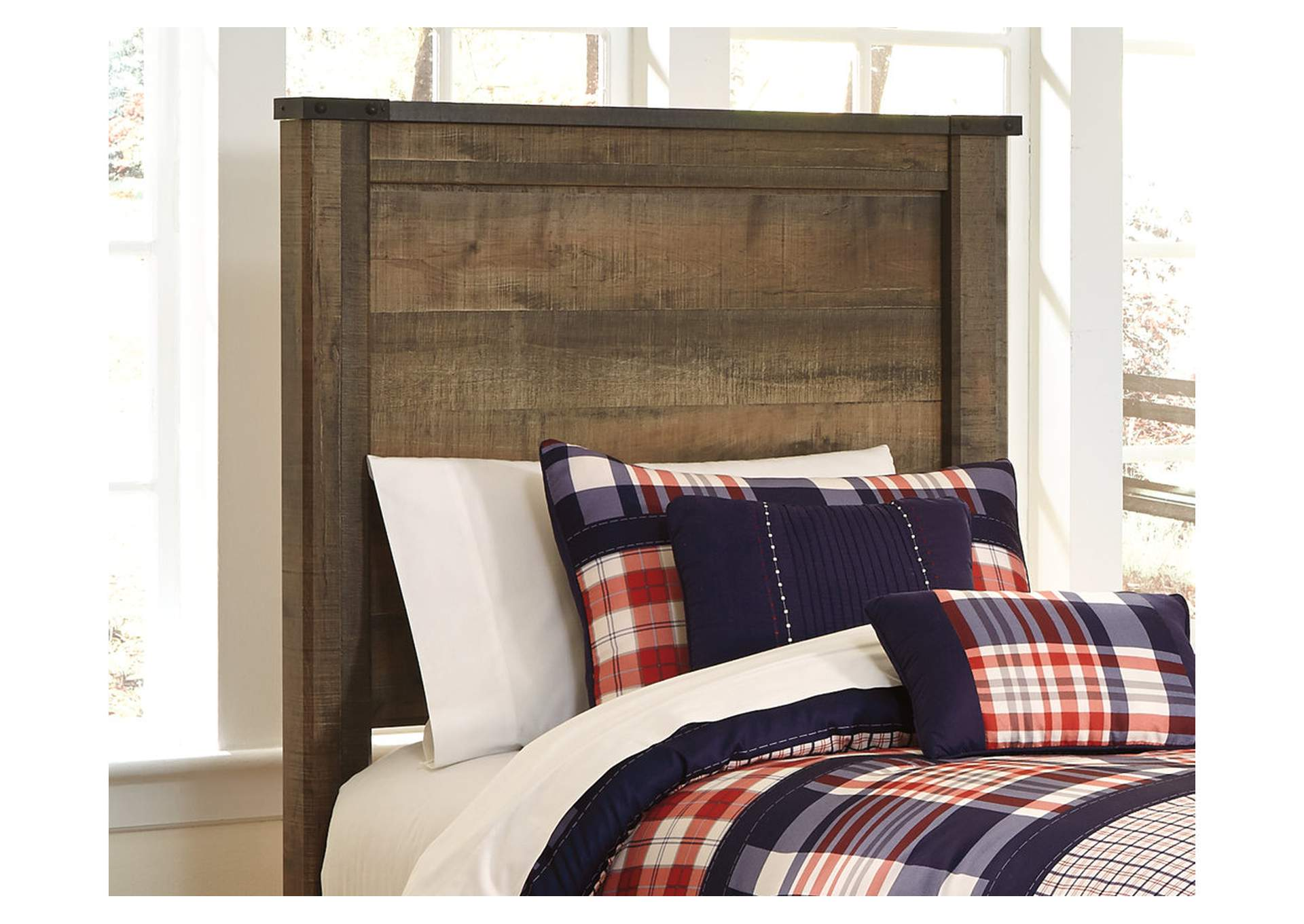 Trinell Brown Twin Panel Headboard,Signature Design By Ashley