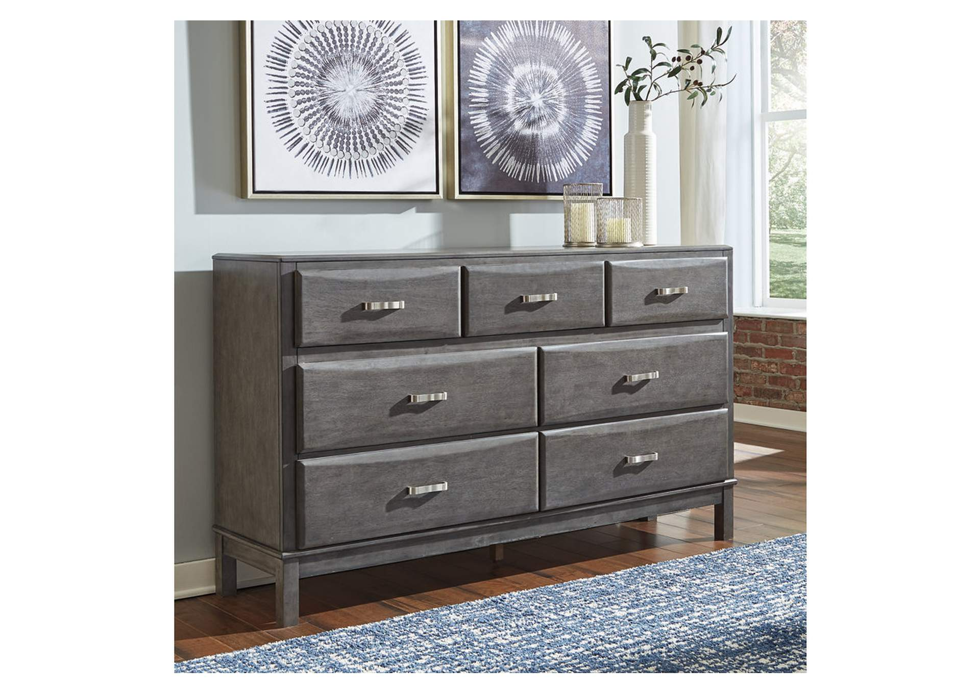 Caitbrook Gray Dresser,Signature Design By Ashley