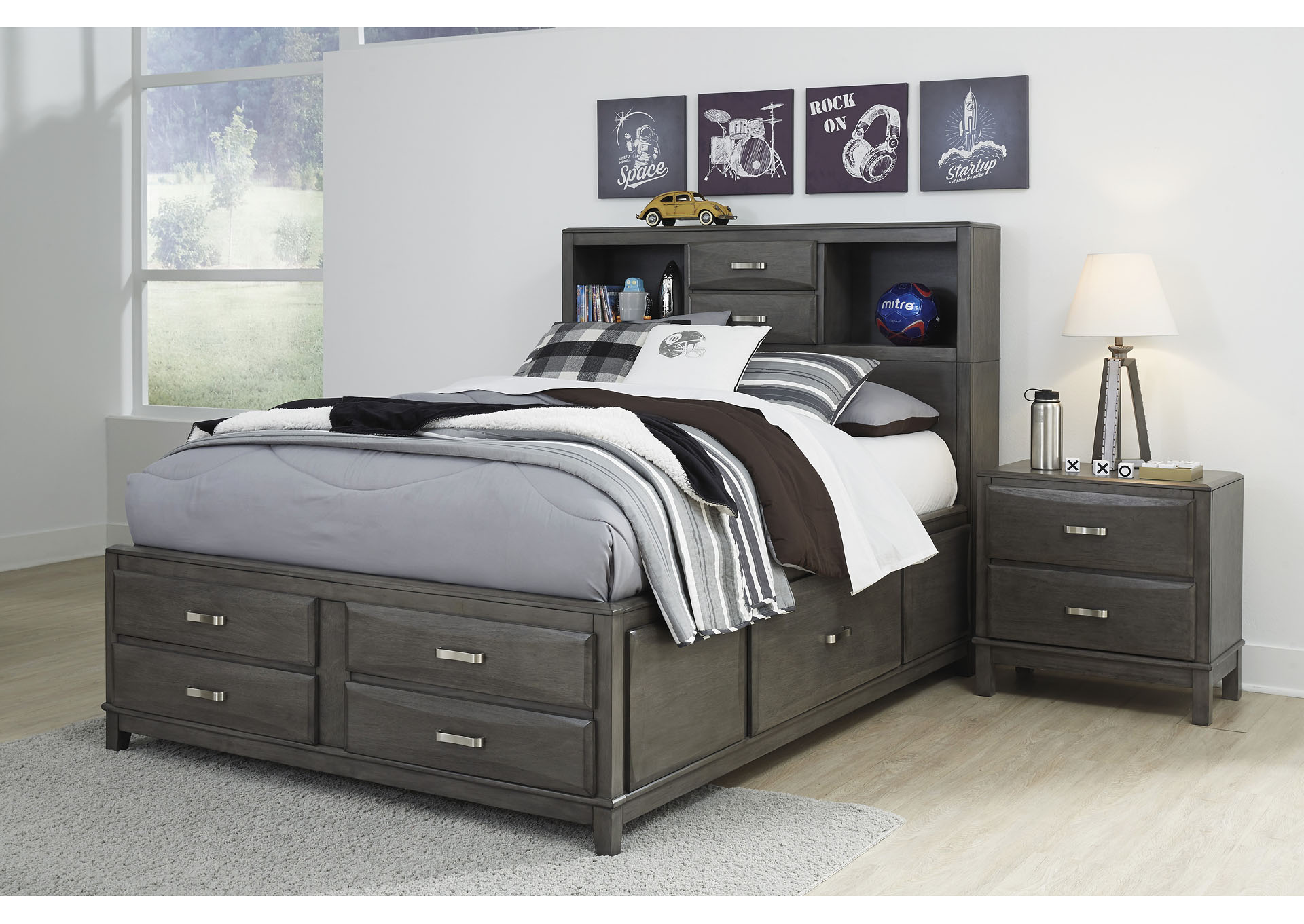 Caitbrook Full Storage Bed,Signature Design By Ashley