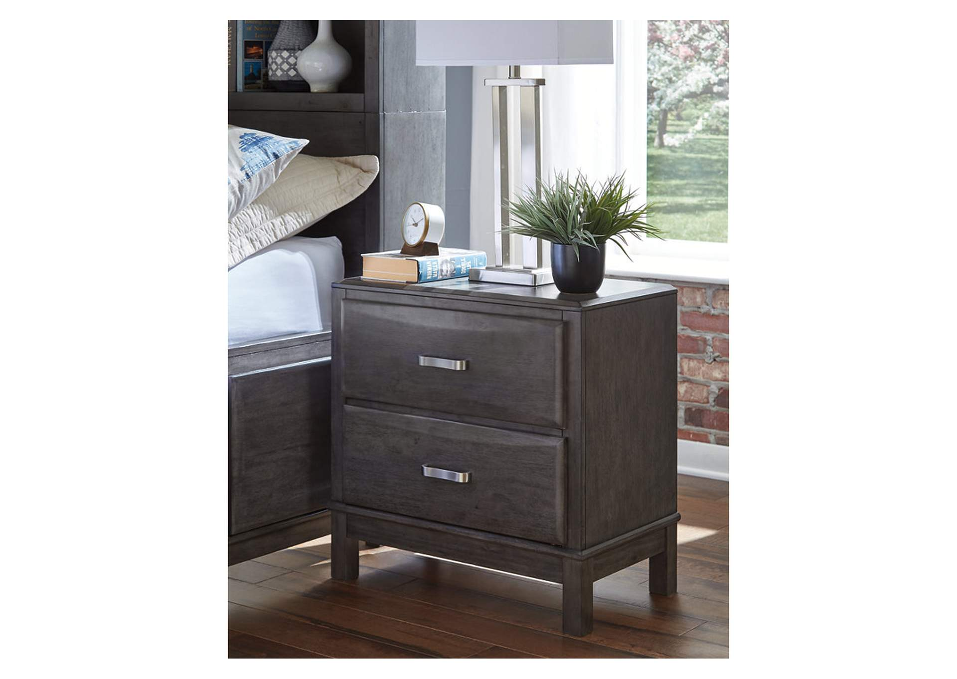 Caitbrook Gray Nightstand,Signature Design By Ashley