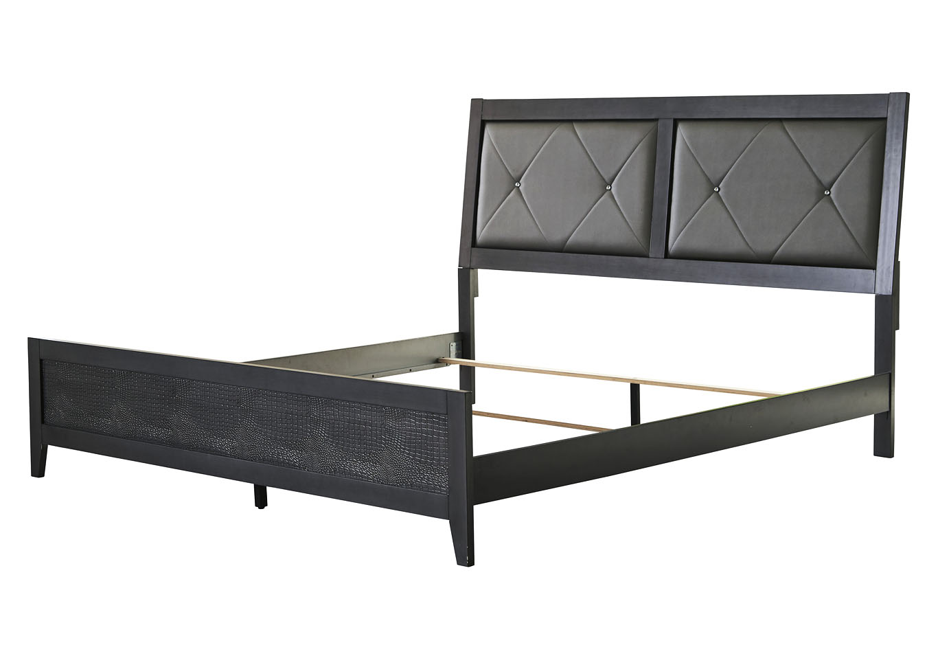 Delmar Gray Full Panel Bed,Benchcraft