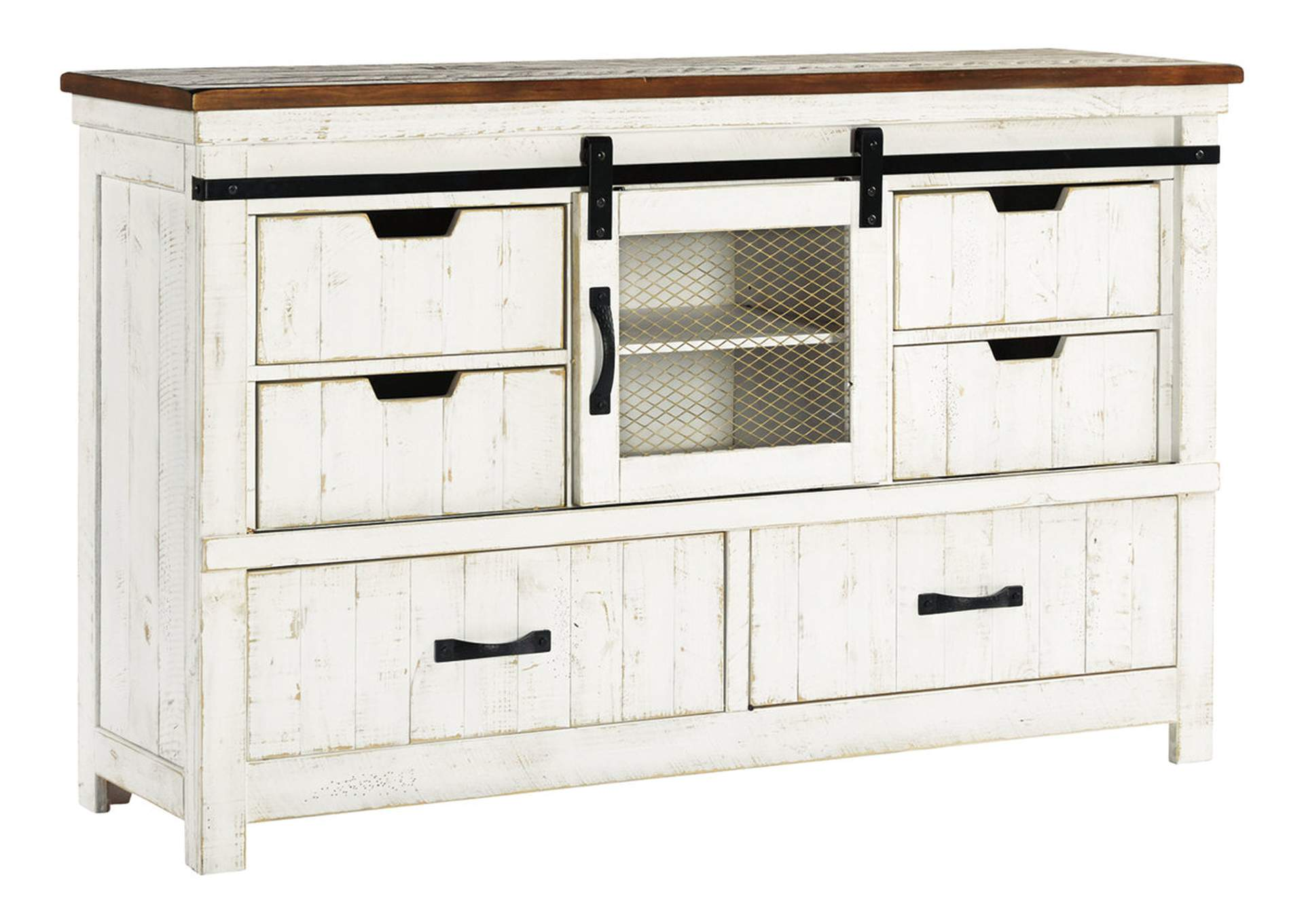 Wystfield White Dresser,Signature Design By Ashley