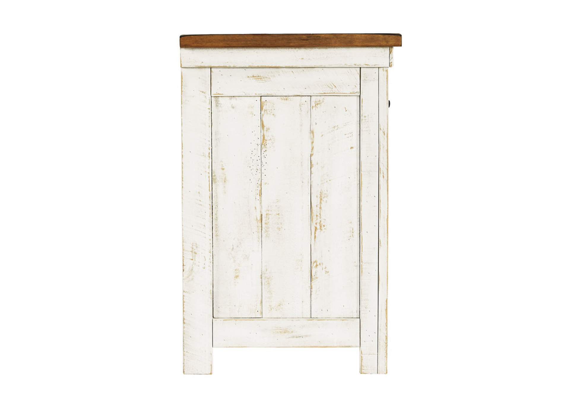 Wystfield White Nightstand,Signature Design By Ashley