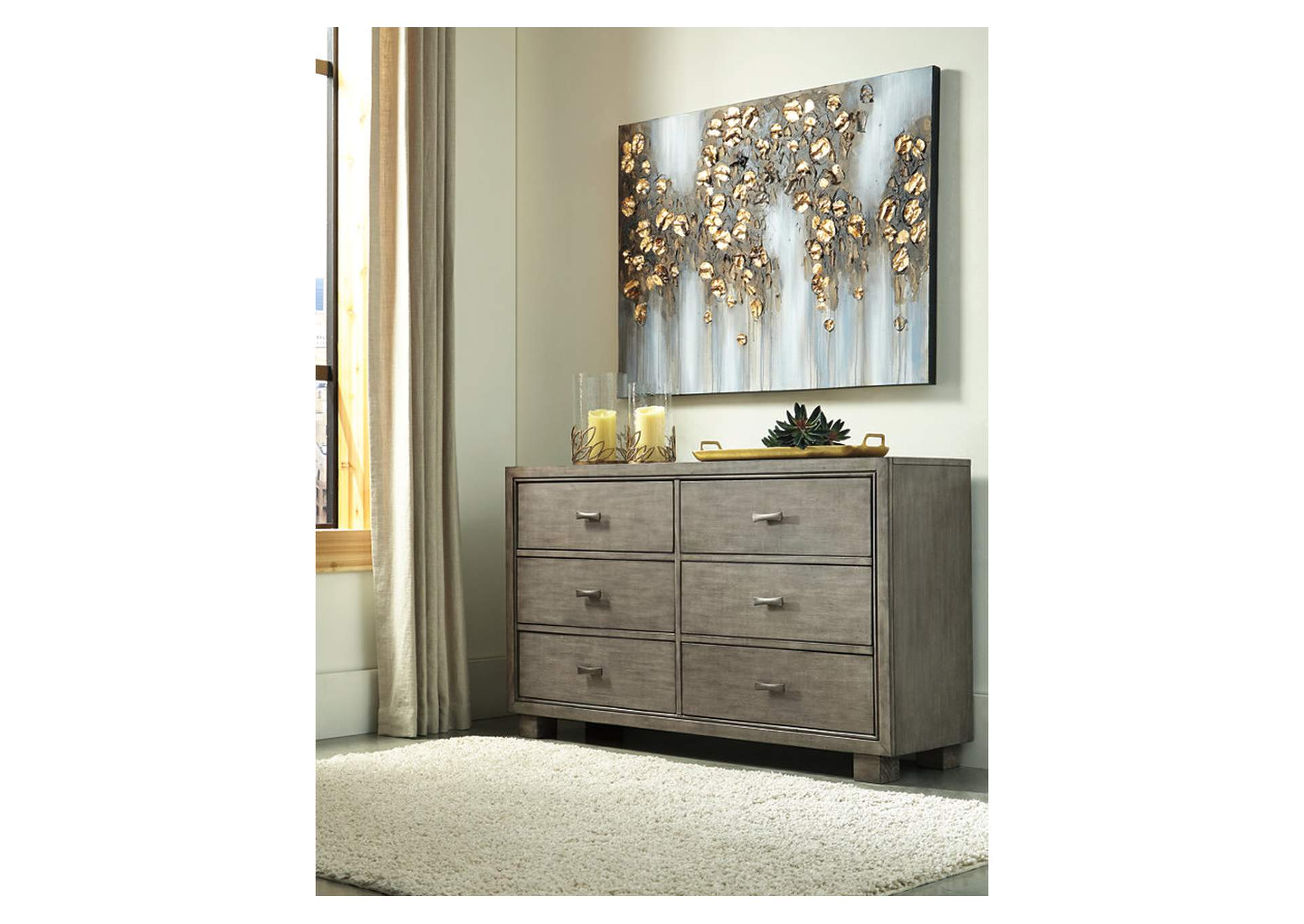 Arnett Gray Dresser,Signature Design By Ashley