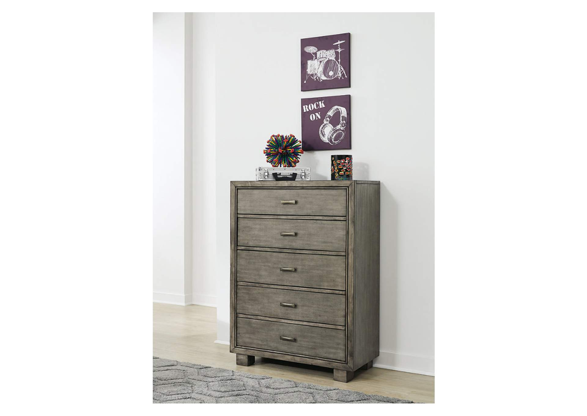 Arnett Gray Chest,Signature Design By Ashley