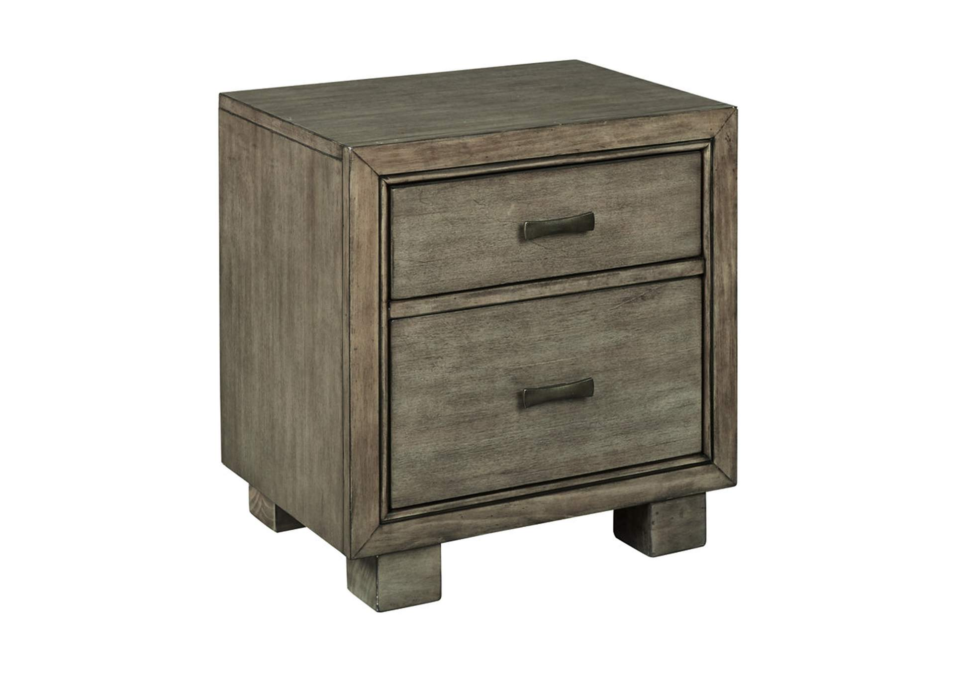 Goree S Furniture Opelika Al Arnett Gray Nightstand